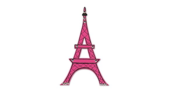 Large Eiffel Tower Die Cuts Metallics New