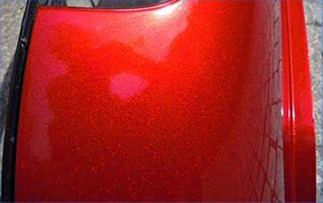Ritrama Candy Rot Hochglanz mit Luftkanä len ,Car Wrapping, High End Folie Musterstü ck 10x10 speedwerk-motorwear