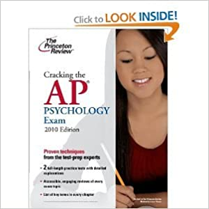 Cracking the APPsychology Exam 2010 Edition byReview