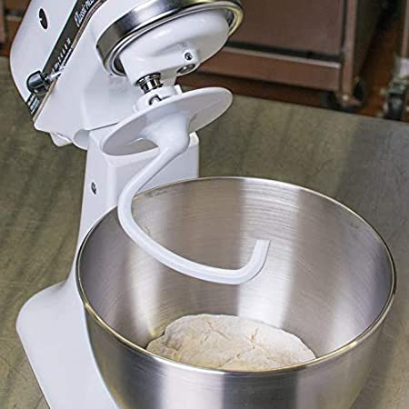 Wadoy K45DH - Gancho para amasar compatible con robot de cocina KitchenAid 4.5 QT KSM90 y K45: Amazon.es: Hogar
