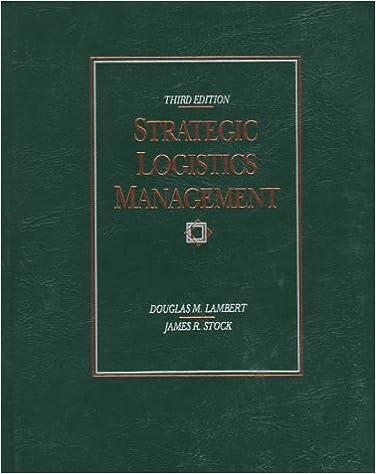 Book Strategic Logistics Management (Irwin Series in Marketing)