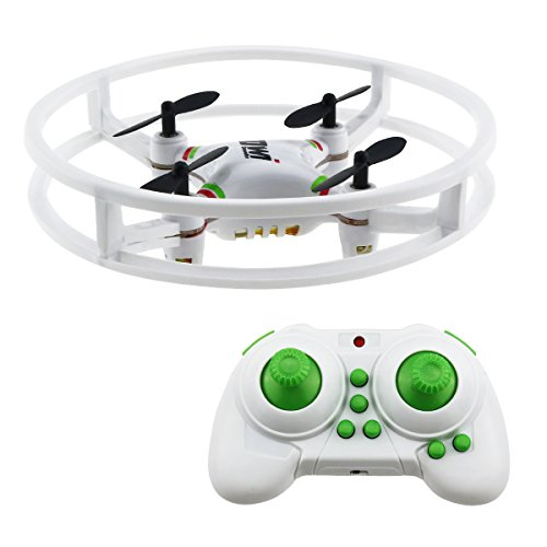 Mini Drone Quadcopter,Sanmersen 2.4Ghz 4CH 6-Axis Gyro RC UFO Aircraft Headless Mode Remote Control Nano Helicopter RTF Mode 2 Fly 3d Rtf Helicopter