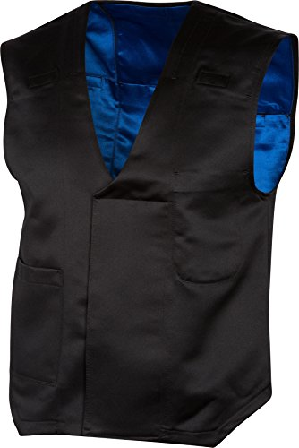 The Cold Shoulder - Black Vest - Mens Size 58 inch chest