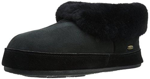 Acorn Men's Sheepskin Bootie Loafer, Black, 9 M US