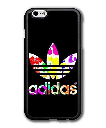 Adidas Brand Logo Original Cool Apple iPhone 6 Plus,iPhone 6S Plus (5.5 Pollici) Custodia Case Cover Plastica Dura Custodia Case per Uomini
