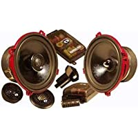 Ef-61cv - CDT Audio Eurofit 6.5 2-way Component Speakers