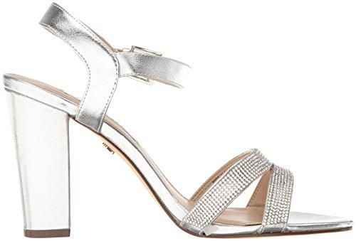 Nina Women's Sylvie Dress Sandal My- Silver VRQQMX6ftw