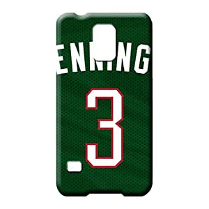 samsung galaxy s5 phone cover skin Pretty Protection Protective Cases milwaukee bucks nba basketball