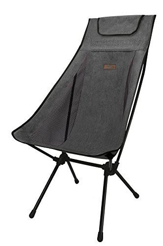 SNOWLINE Pender Chair, Dark Grey, Large
