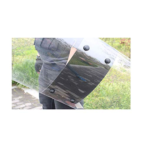 ZFLXH Clear Polycarbonate Shield Anti Riot Shield 3.5mm PC Sheet