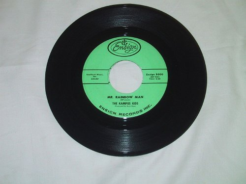 Mr. Rainbow Man + Leave Me Alone [7-inch 45rpm record]