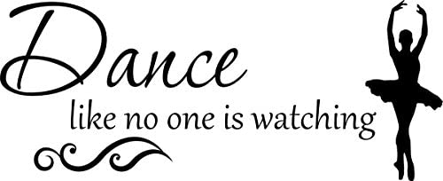 Decal Quote Dance Watching Decor product image