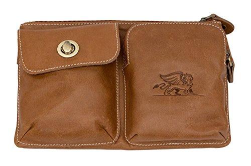 Hybrid Hip Leather Fanny Pack Waist Bag Belt Pouch for Mobile Phone Travel Accessories Wallet - Belt Hybrid
