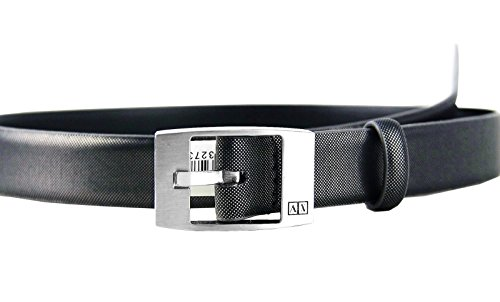 AX ARMANI EXCHANGE SILVER NET 1 1/8'' WIDE BELT 100% LEATHER BRAND NEW # 21 by A|X Armani Exchange