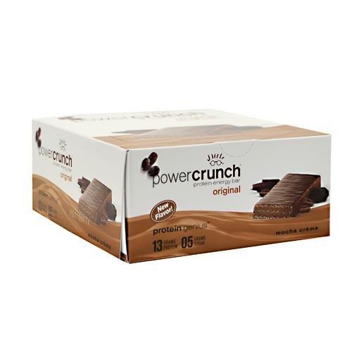 Power Crunch French Vanilla Creme 12 bars.