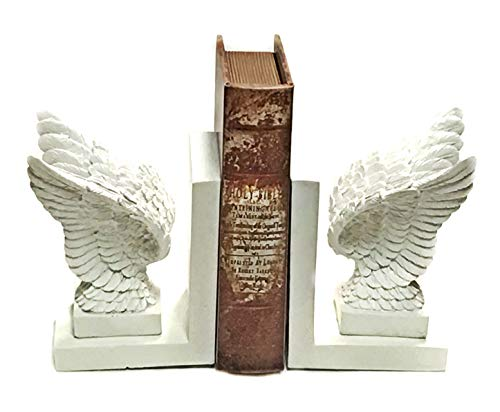 Angel Bookends - Bellaa 20935 Inspirational Bookends Angel Wings Religious 7