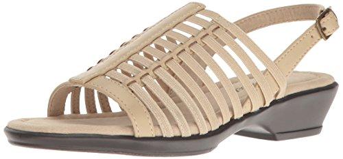 Easy Street Women Allure Huarache Sandal Natural