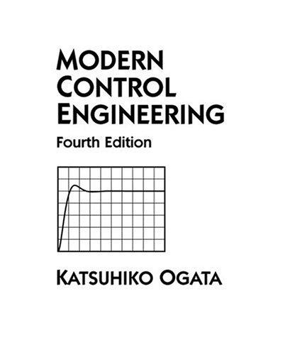 Modern Control Engineering (4th Edition)