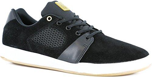 ES Skateboard Shoes ACCELERATE BLACK/WHITE Sz 14