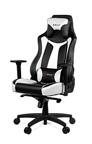 Executive Galaxy Chair (Arozzi Vernazza Series Super Premium Gaming Racing Style Swivel Chair, White)