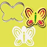 Stencil-A-Cookie Cutter & Stencil Set-Butterfly