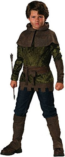 InCharacter Costumes Boys 8-20 Robin of Nottingham Costume, Forest Green, 10 ()