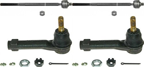 Prime Choice Auto Parts TRK3046-TRK3077 Set of 2 Inner and 2 Outer Tie Rods