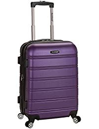 Luggage Melbourne 20 Inch Expandable Carry On, Purple, One Size