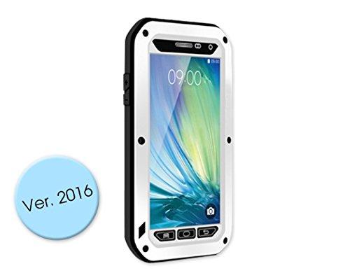 DSstyles teléfono caso caso de la cubierta a prueba de golpes para Samsung Galaxy A3 - blanco