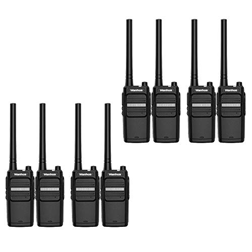 Nelc5kl Walkie Talkies Rechargeable Long Range Two-Way Radios with UHF 400-470Mhz Walkie Talkies 4800 mAh Li-ion Battery and Charger Included Radio (Size : E) by Nelc5kl (Image #3)