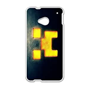Classic Case MINECRAFT pattern design For HTC ONE M7 Phone Case