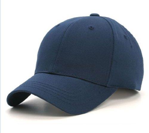 Plain Adjustable Velcro Baseball Cap
