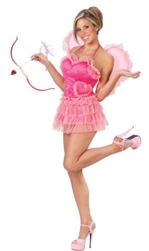 Sexy Cupid Costumes (Sexy Cupid Costume - Medium/Large - Dress Size 10-14)