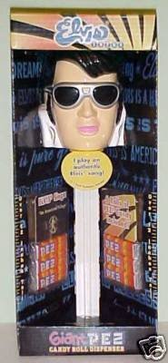 1970's Elvis Musical Giant PEZ Candy Roll -