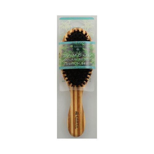 Earth Therapeutics Regular Bamboo Natural Bristle Cushion Br