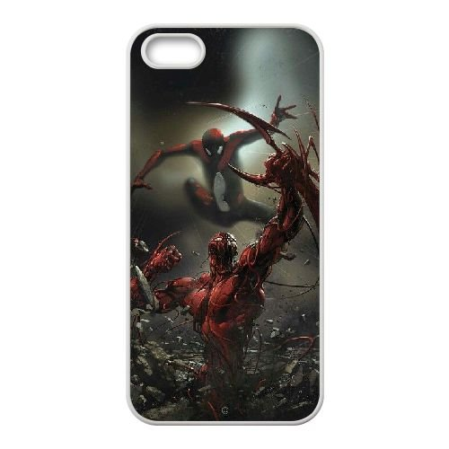 Pictures Of Spiderman 010 coque iPhone 4 4S Housse Blanc téléphone portable couverture de cas coque EEEXLKNBC18699