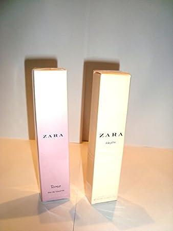 Amazoncom Two Bottles Zara Fruity 10mlrose 10ml Eau De Toilette