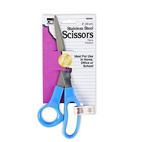 Charles Leonard CHL80800BN 8 in. Economy Scissors 1 Card - Pack of 24 by Charles Leonard