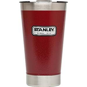 Stanley Classic Vacuum Pint, Hammertone Crimson, 16 oz