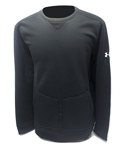 Under Armour Nylon Pullover (Under Armour Men's Cold Gear Sweaters (XL, Black/Gray))