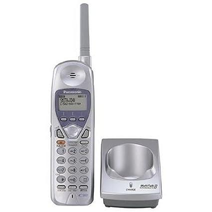 Panasonic KX-TGA270 S plata 2,4 gHz auricular inalámbrico extensión de teléfono (