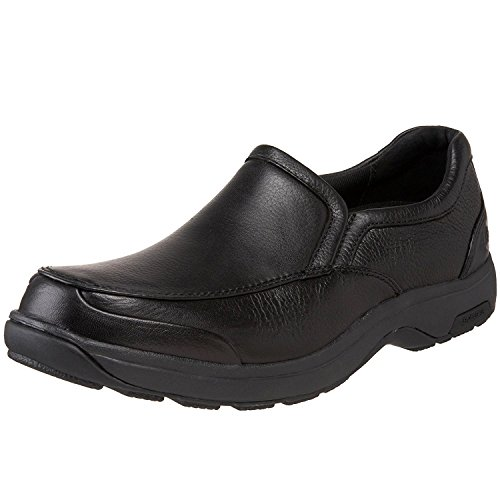 New Balance Dunham Mens Battery Park Slip-On, Black, 44 B(N) EU/9.5 B(N) UK