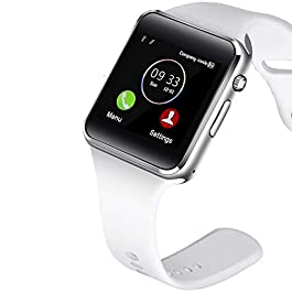 321OU Smart Watch Compatible Android and iOS Phone with SIM SD Card Slot Camera Android Smartwatch Touch Screen…