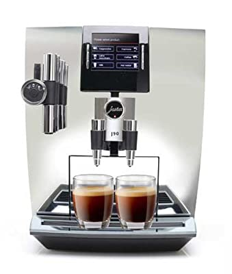 Jura J90 Automatic One-Touch Coffee Machine Chrome