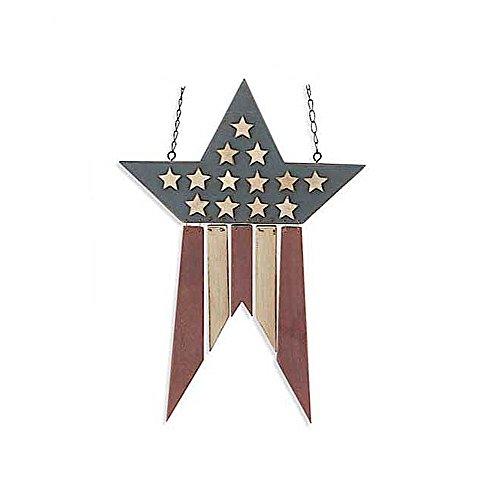 Patriotic Americana Star Hanging Decorative Replacement Plaque for Arrow (Hanging Arrow)