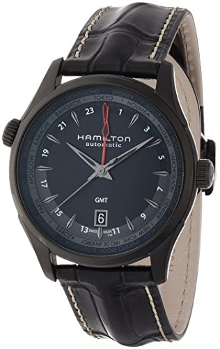 Hamilton Jazzmaster GMT Auto 42mm Mens Watch - H32685731