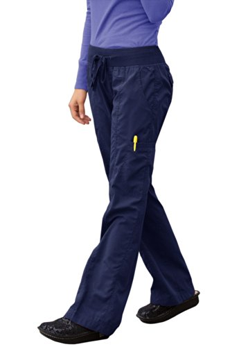 Peaches Comfort Pant (Navy, X-Small