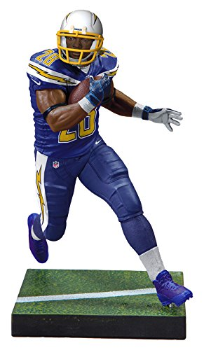 McFarlane Toys Madden NFL 18 Ultimate Team Series 1 Melvin Gordon Los Angeles Chargers Action Figure - Helmet Ea Chargers