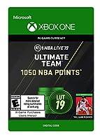 NBA LIVE 19: NBA UT 1050 Points Pack - Xbox One [Digital Code]