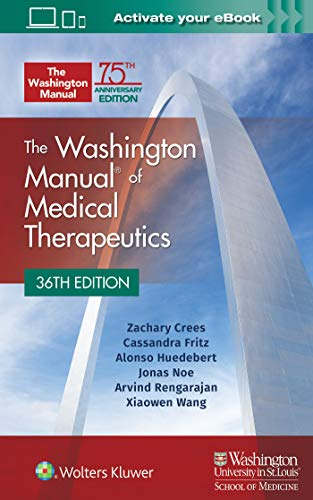 The Washington Manual of Medical Therapeutics Paperback ()